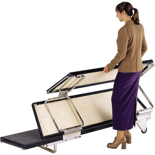 Midwest Folding Products TransFold Choral Risers thumbnail