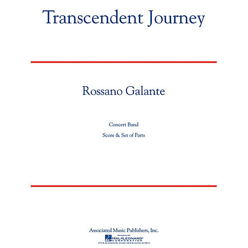 G. Schirmer Transcendent Journey Concert Band Level 5 Composed by Rossano Galante thumbnail