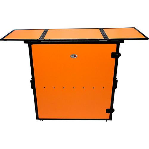 ProX Transformer Series Fold Away DJ Table - Orange/Black (XS-DJSTNRB) thumbnail