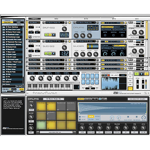 Digidesign Transfuser Virtual Instrument Software thumbnail