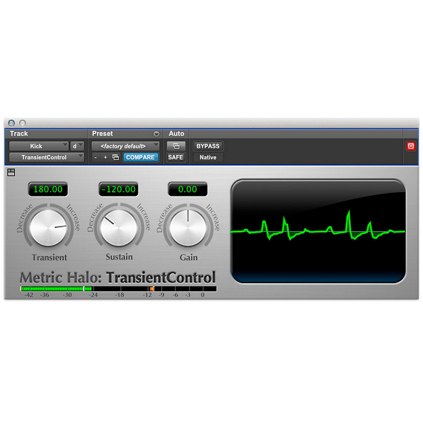 METRIC HALO TransientControl for Pro Tools AAX thumbnail
