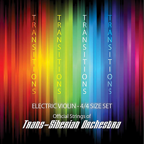 Super Sensitive Transitions Electric Violin Strings E String (plain) thumbnail