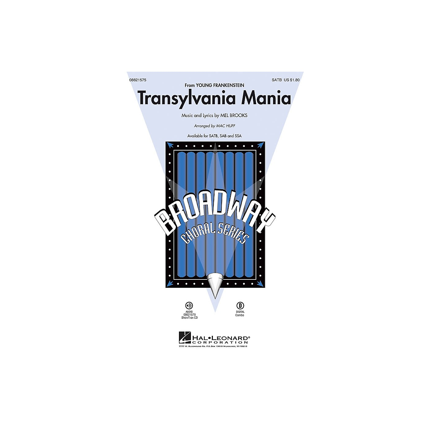 Hal Leonard Transylvania Mania (from Young Frankenstein) ShowTrax CD Arranged by Mac Huff thumbnail