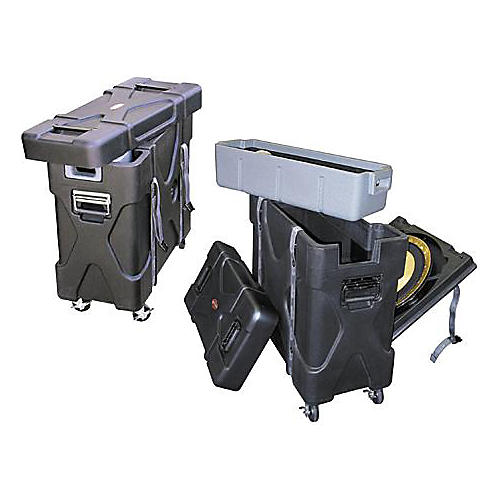 SKB Trap-X2 Roto-X Trap Case with Cymbal Vault thumbnail