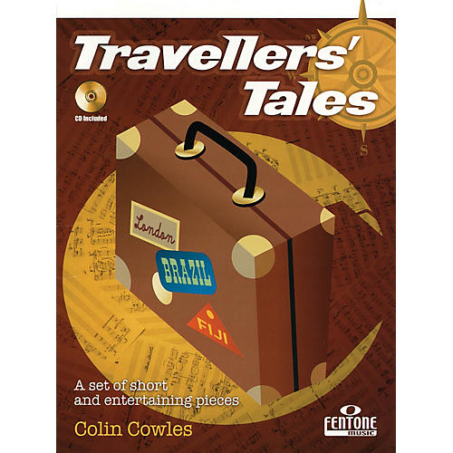 Fentone Travellers' Tales (for Alto Saxophone) Fentone Instrumental Books Series Book with CD thumbnail