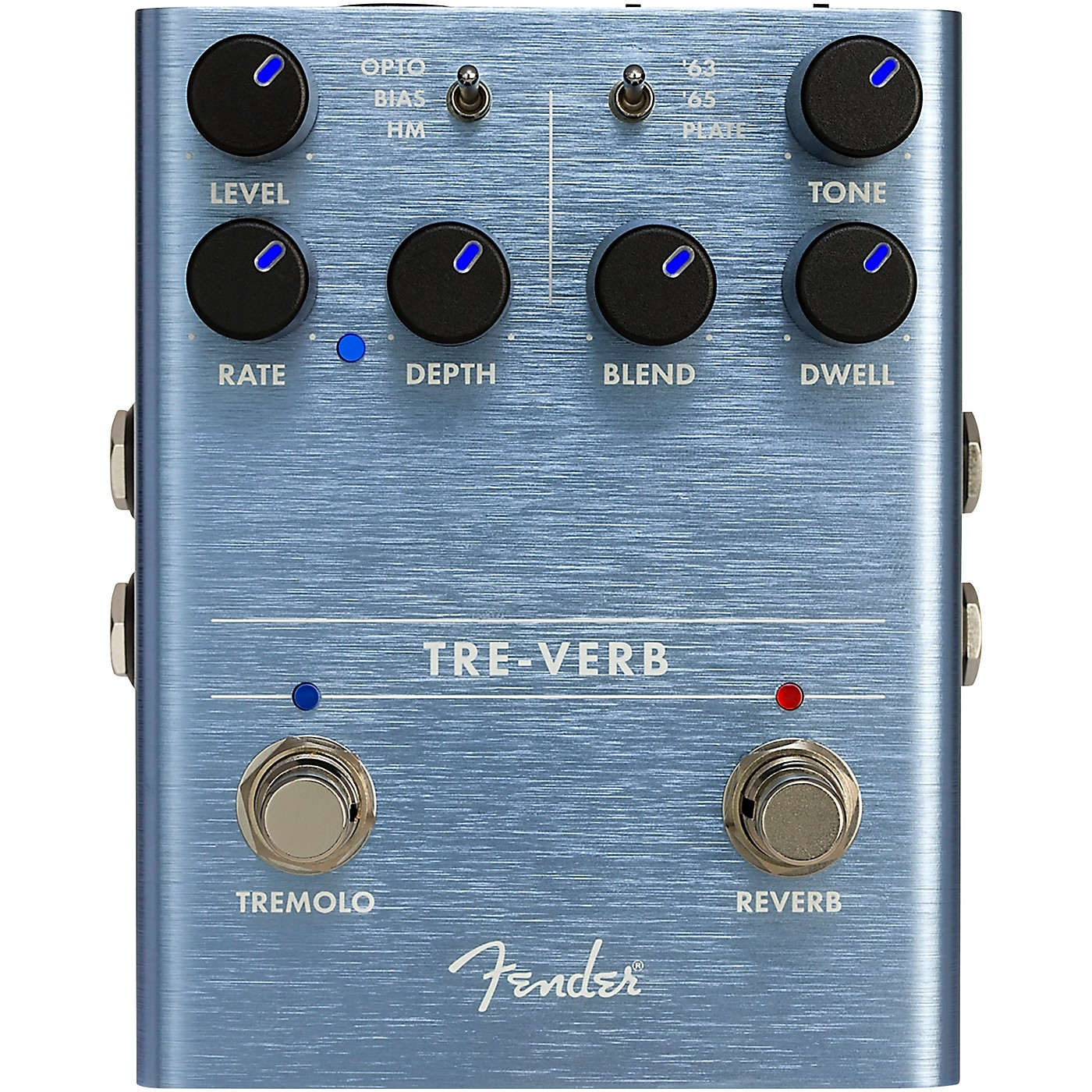 Fender Tre-Verb Digital Tremolo and Reverb Effects Pedal thumbnail