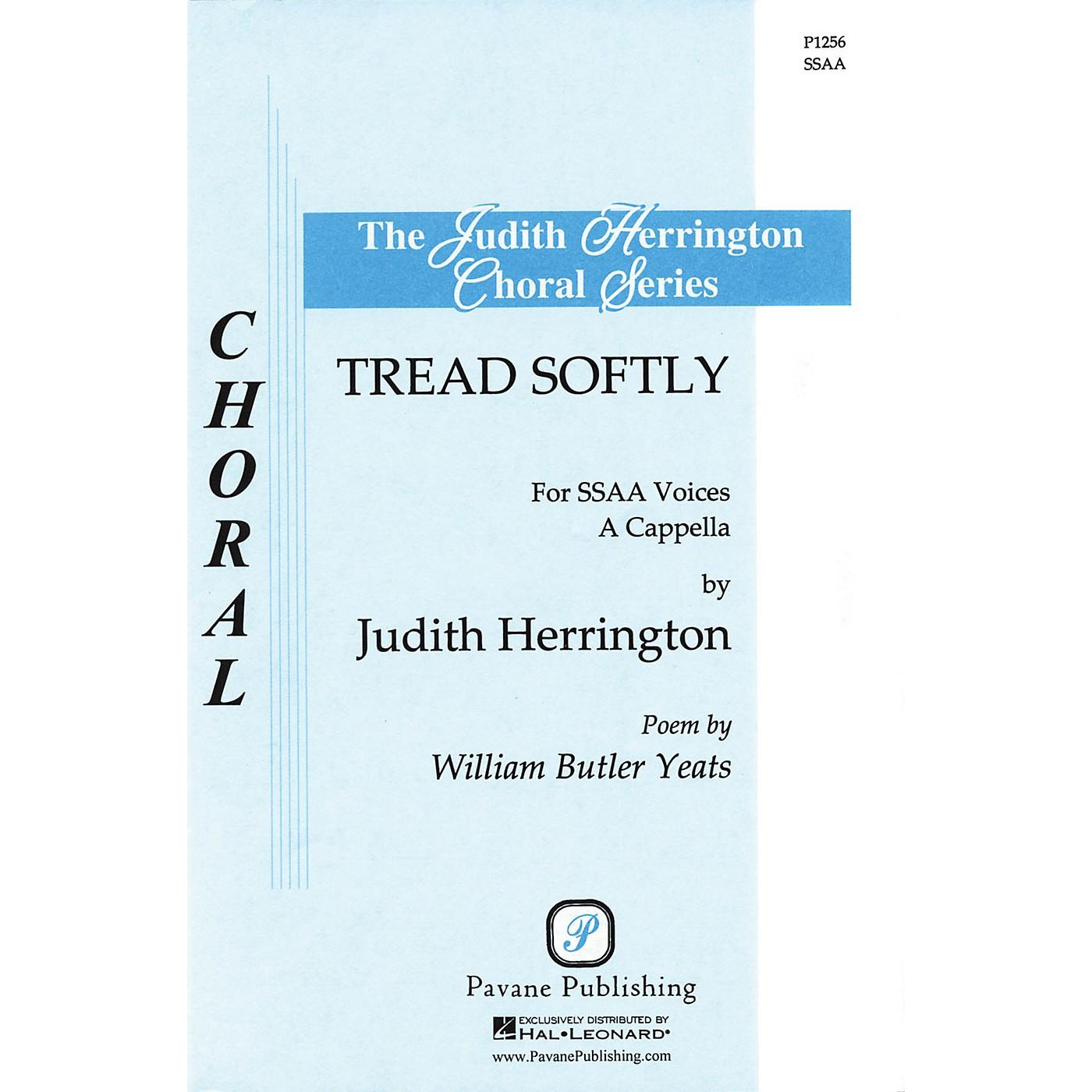 Pavane Tread Softly SSAA A Cappella arranged by Judith Herrington thumbnail