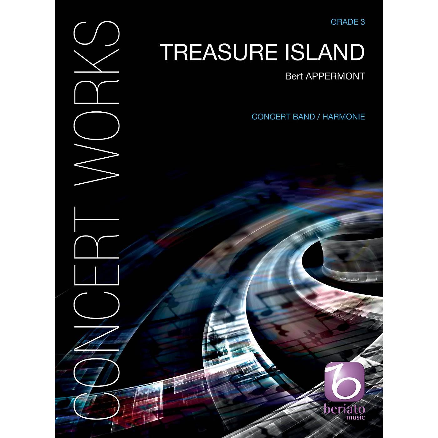 De Haske Music Treasure Island Concert Band Level 4 Composed by Bert Appermont thumbnail