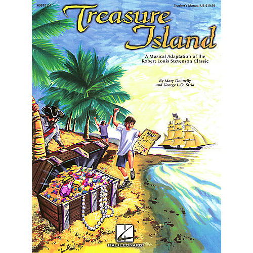 Hal Leonard Treasure Island (Musical) PREV CD Composed by Mary Donnelly thumbnail