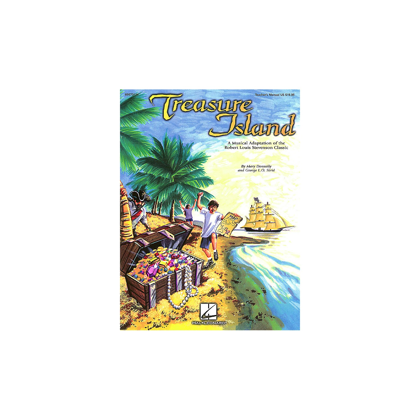 Hal Leonard Treasure Island (Musical) ShowTrax CD Composed by Mary Donnelly thumbnail