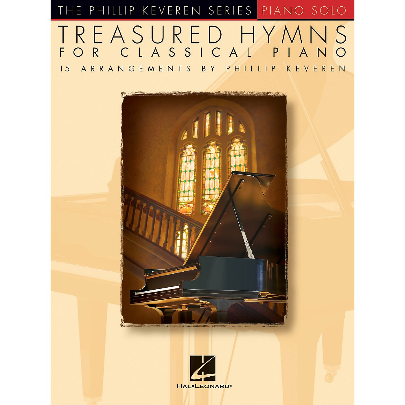 Hal Leonard Treasured Hymns for Classical Piano - The Phillip Keveren Series Piano Solo Songbook thumbnail