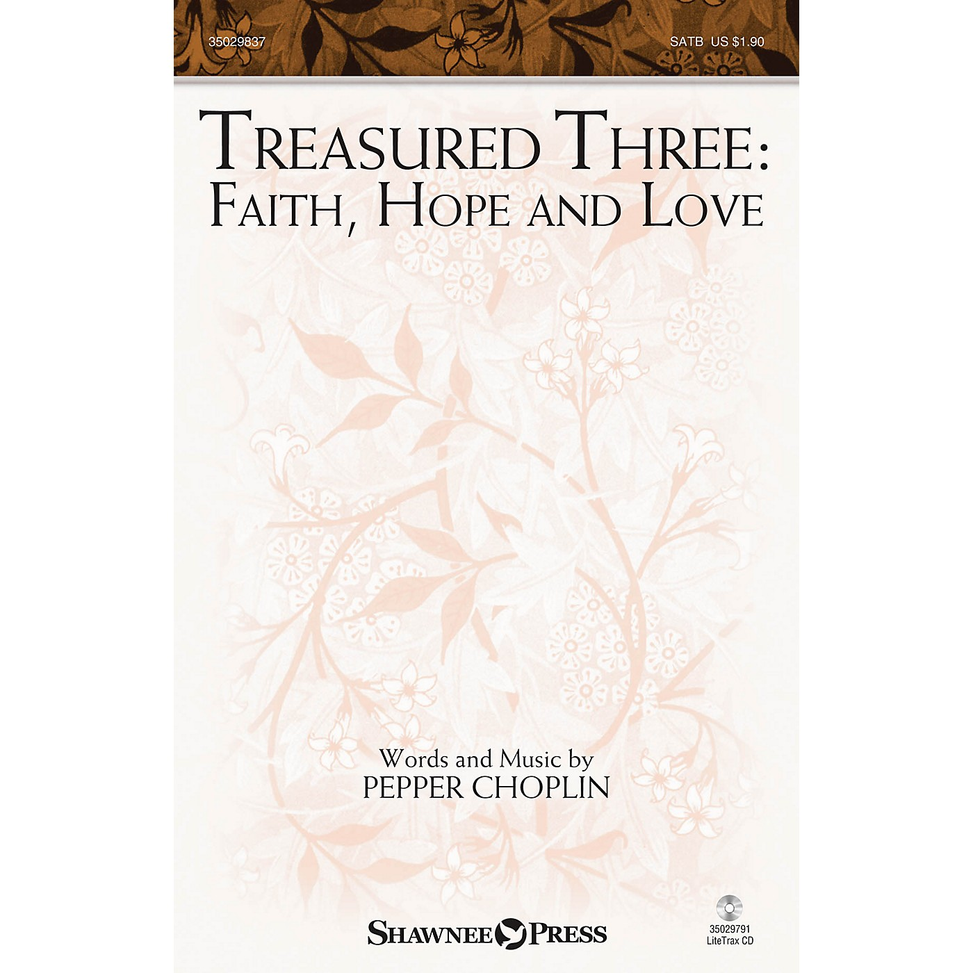 Shawnee Press Treasured Three: Faith, Hope And Love SATB thumbnail