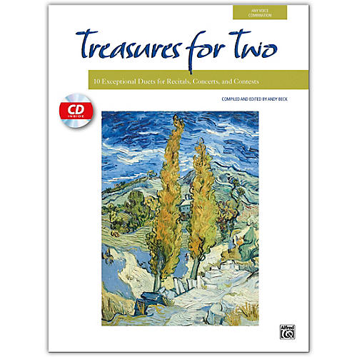 Alfred Treasures for Two Book & Acc. CD thumbnail