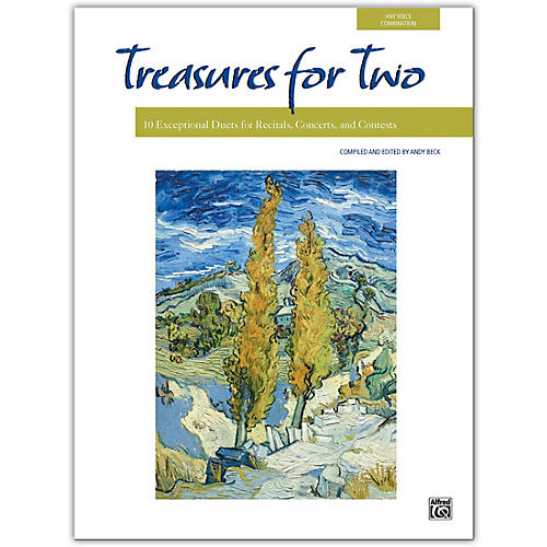 Alfred Treasures for Two Book thumbnail