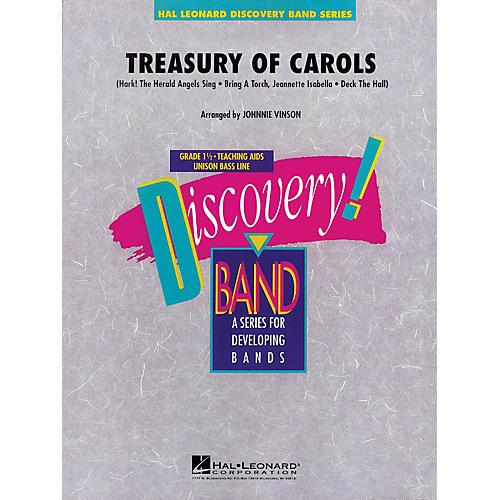 Hal Leonard Treasury of Carols Concert Band Level 1.5 Arranged by Johnnie Vinson thumbnail