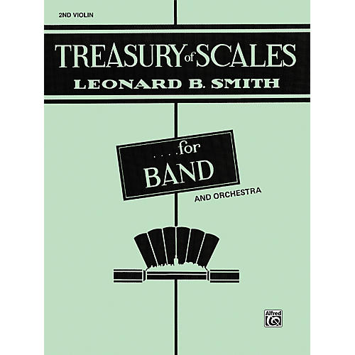 Alfred Treasury of Scales for Band and Orchestra 2nd Violin thumbnail