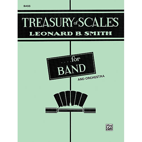 Alfred Treasury of Scales for Band and Orchestra Bass (Tuba) thumbnail