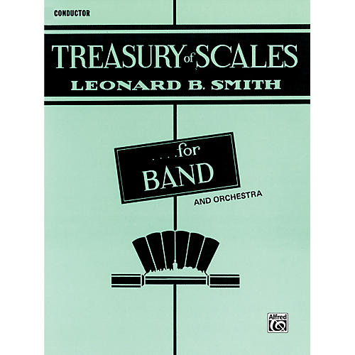 Alfred Treasury of Scales for Band and Orchestra Conductor thumbnail