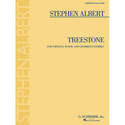 G. Schirmer Treestone (Study Score) Study Score Series Softcover Composed by Stephen Albert thumbnail