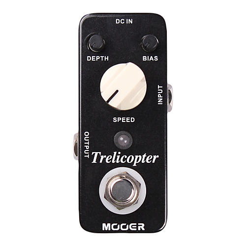 Mooer Trelicopter Tremolo Guitar Effects Pedal thumbnail