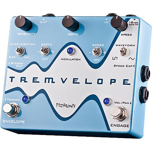 Pigtronix Tremvelope Tremolo Guitar Effects Pedal thumbnail