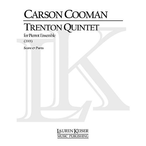 Lauren Keiser Music Publishing Trenton Quintet LKM Music Series Composed by Carson Cooman thumbnail
