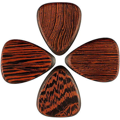 Timber Tones Tri Tones Wenge Single Plectrum Guitar Pick thumbnail