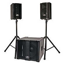 Peavey TriFlex II 1000W Three-Piece, Two-Channel Sound System