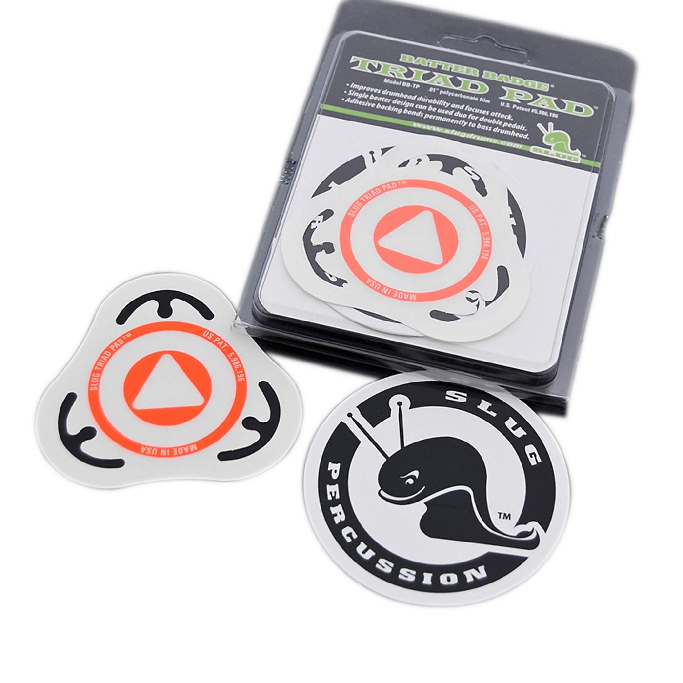 Slug Percussion Triad Pad Batter Badge thumbnail