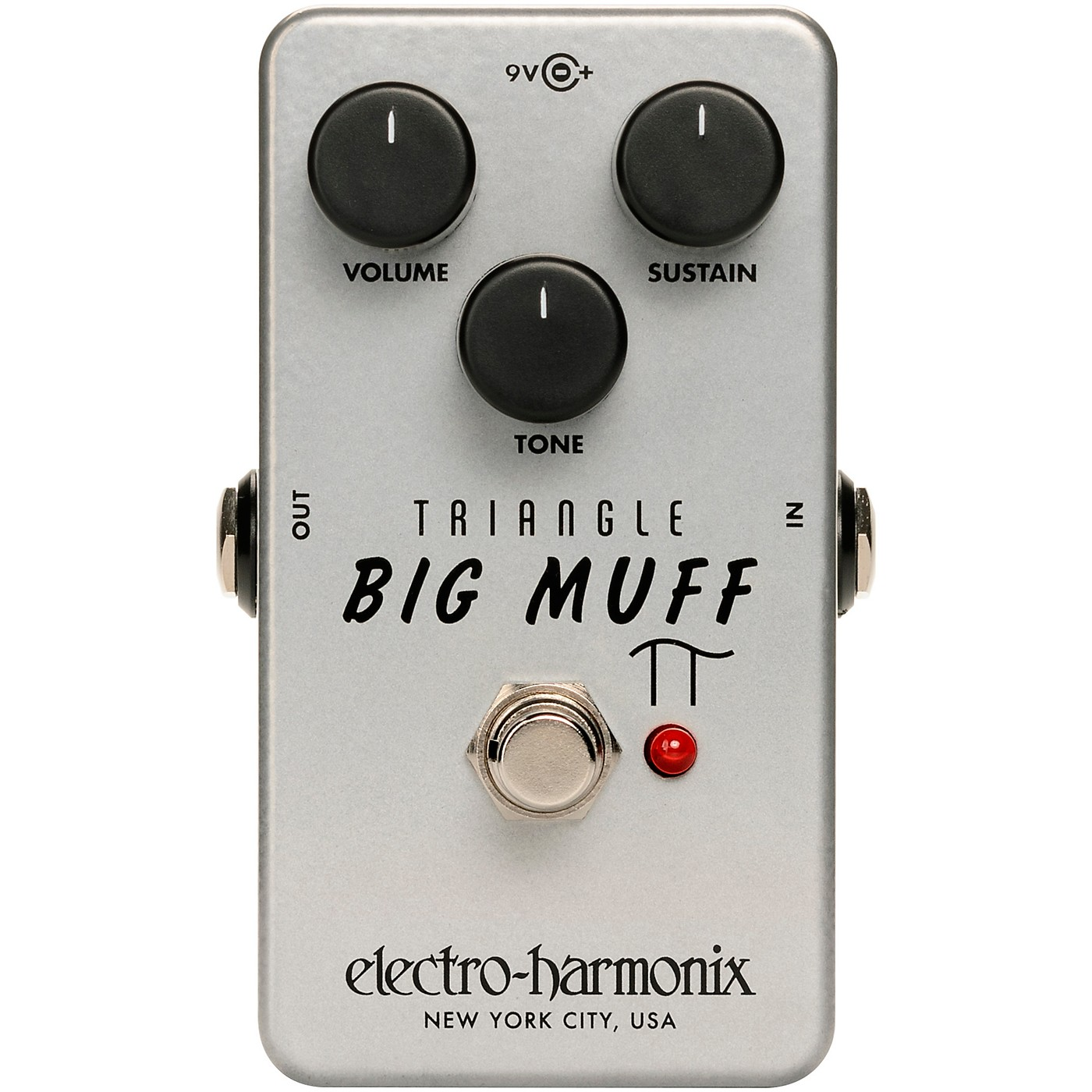 Electro-Harmonix Triangle Big Muff Pi Distortion/Sustainer Effects Pedal thumbnail