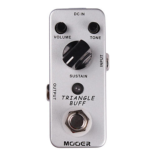 Mooer Triangle Buff Fuzz Guitar Effects Pedal thumbnail