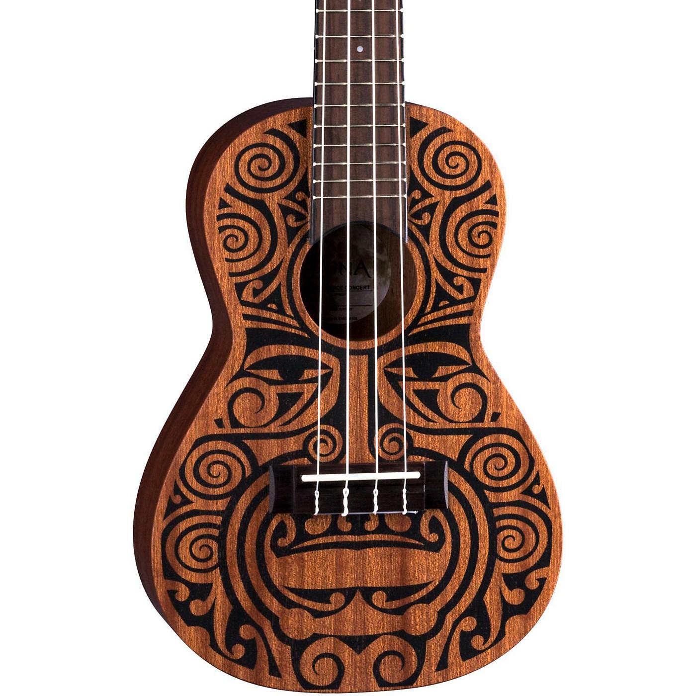 Luna Guitars Tribal Concert Ukulele thumbnail