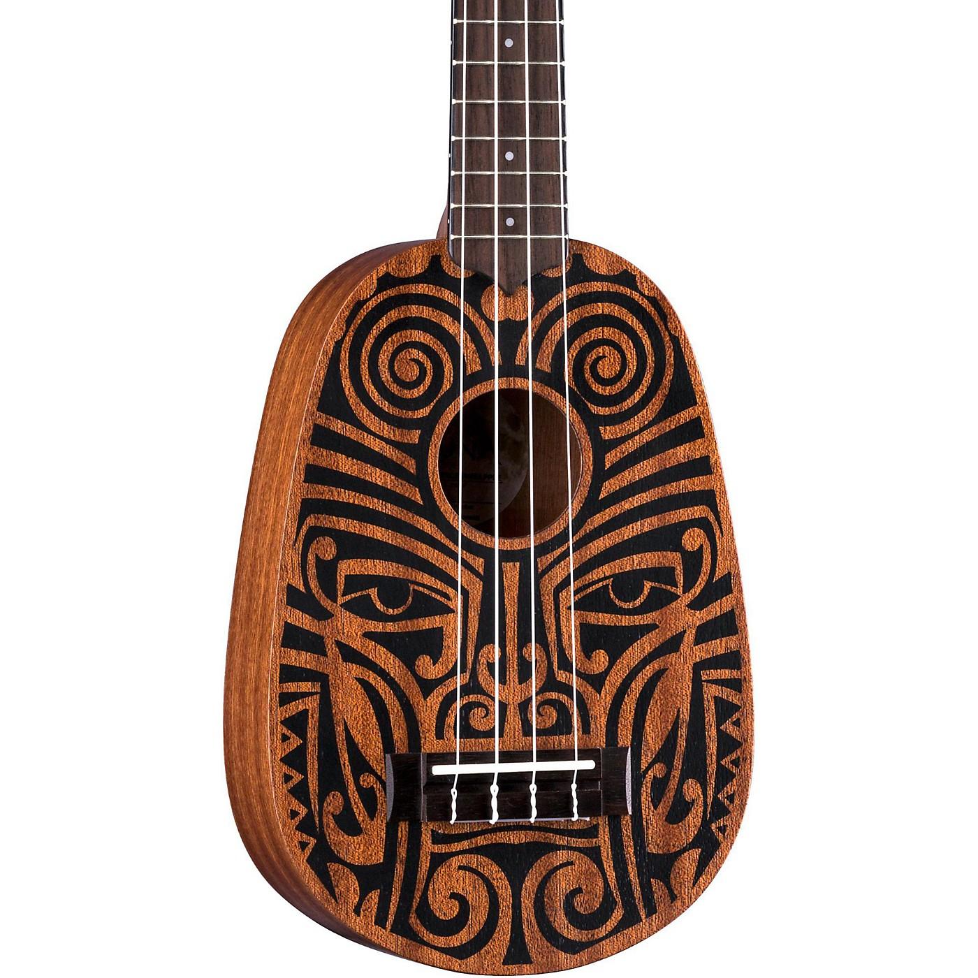 Luna Guitars Tribal Pineapple Ukulele thumbnail
