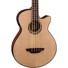 Luna Guitars Tribal Short Scale Acoustic-Electric Bass