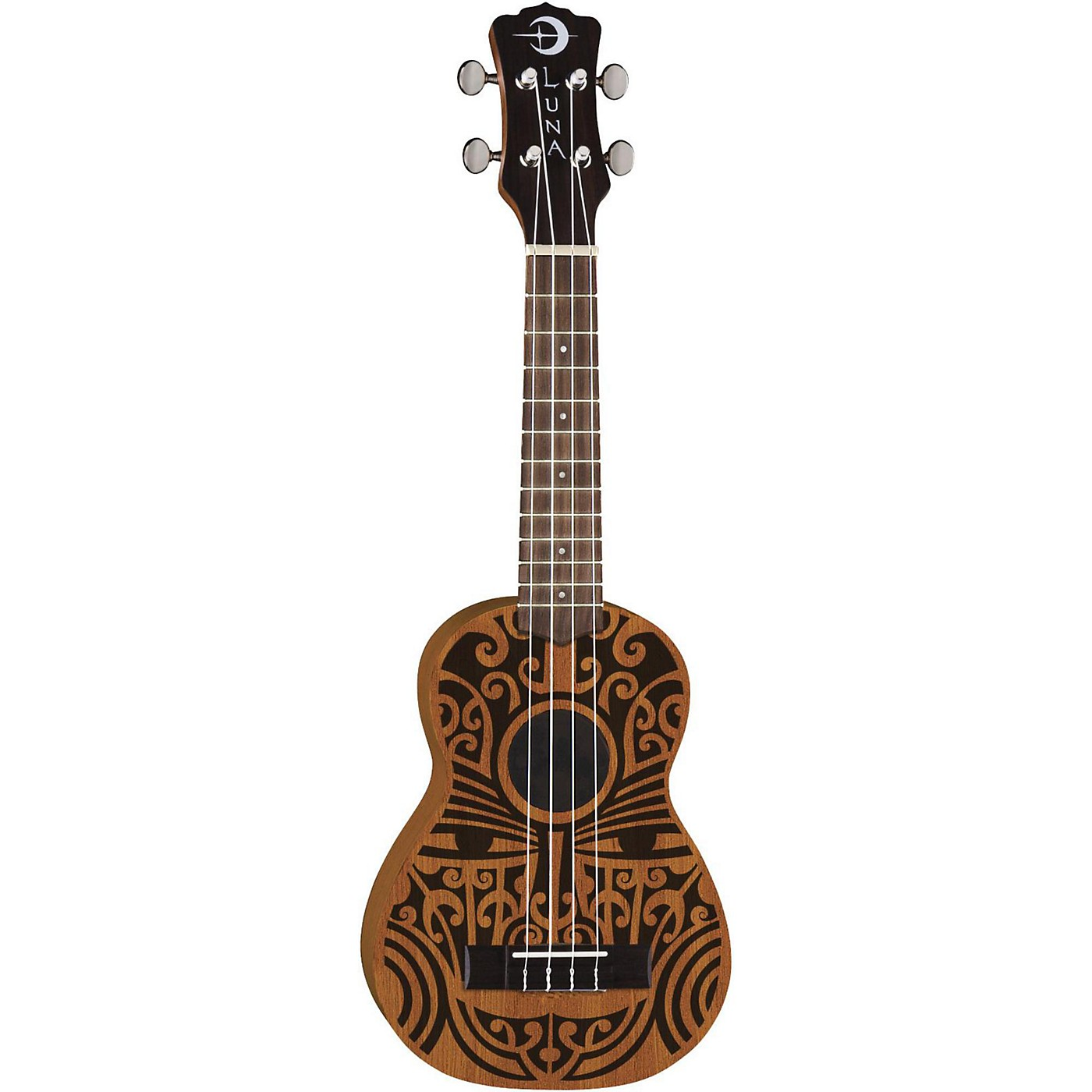 Luna Guitars Tribal Soprano Ukulele thumbnail