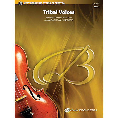 Alfred Tribal Voices String Orchestra Grade 0.5 thumbnail