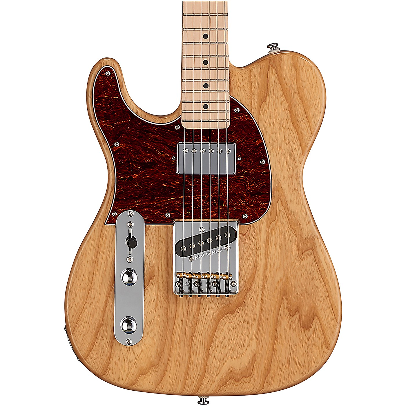 G&L Tribute ASAT Classic Bluesboy Left Handed Electric Guitar Maple Fingerboard thumbnail