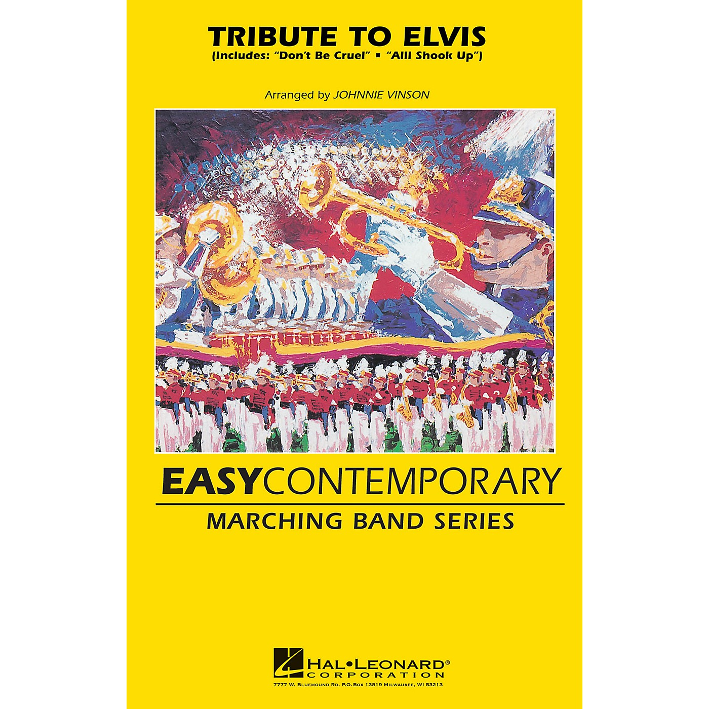 Hal Leonard Tribute To Elvis Marching Band Level 2 by Elvis Presley Arranged by Johnnie Vinson thumbnail