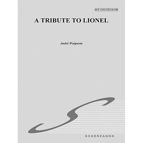 Hal Leonard Tribute To Lionel Score Concert Band thumbnail