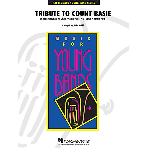 Hal Leonard Tribute to Count Basie - Young Concert Band Level 3 by John Moss thumbnail