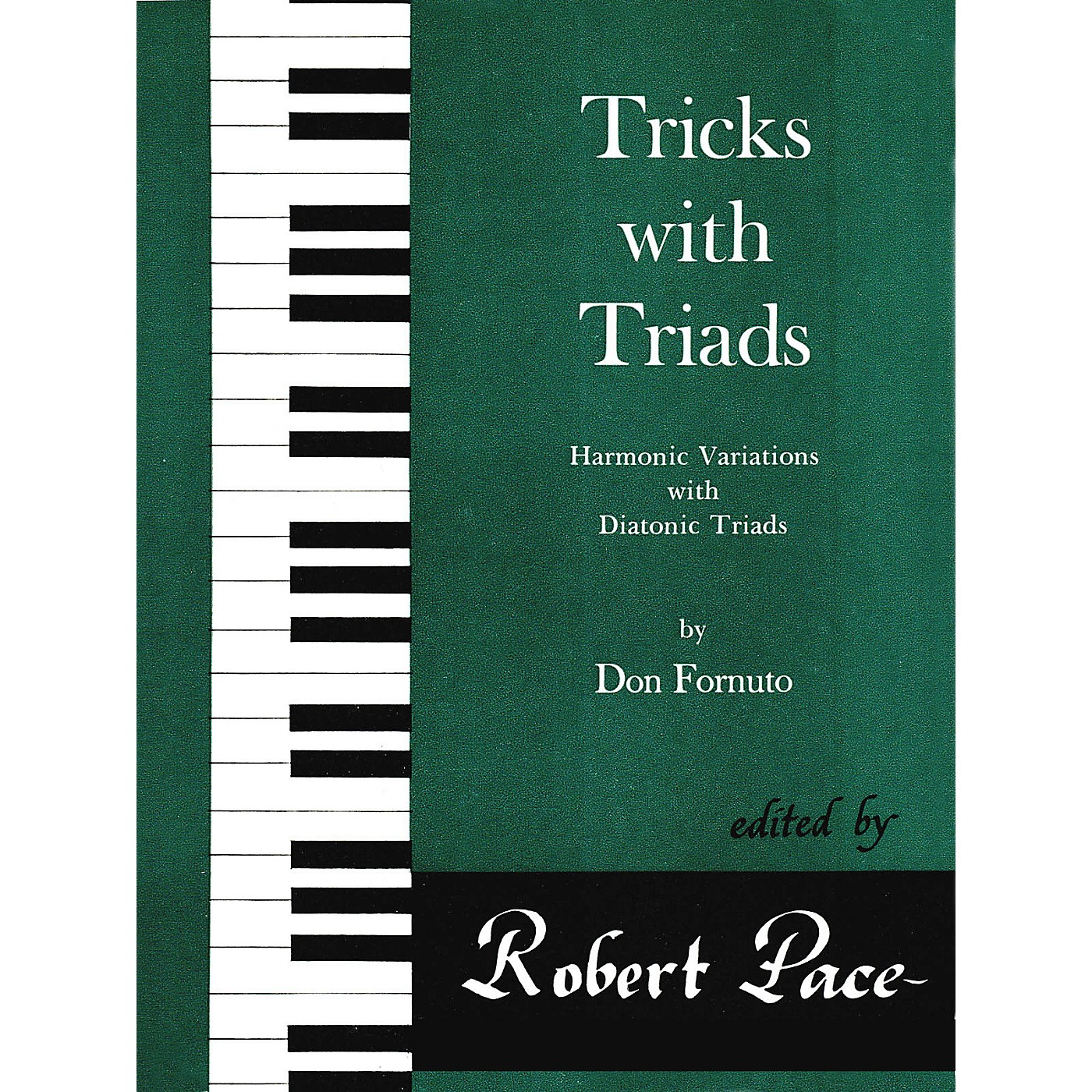 Lee Roberts Tricks with Triads - Set I Pace Piano Education Series Composed by Don Fornuto thumbnail