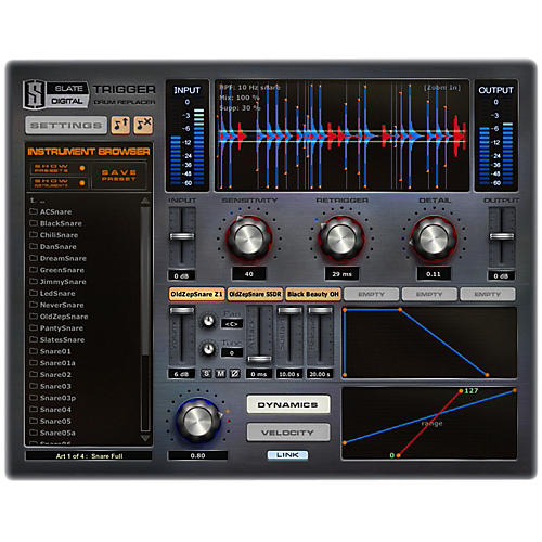 Slate Digital Trigger EX Drum Replancemnent Software Download thumbnail