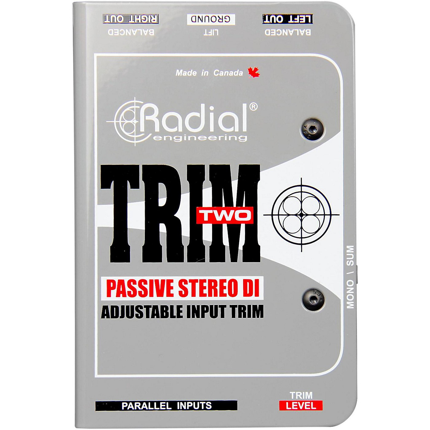 Radial Engineering Trim-Two Passive DI for AV with Level Control thumbnail