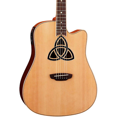 Luna Guitars Trinity Dreadnought Acoustic-Electric Guitar thumbnail
