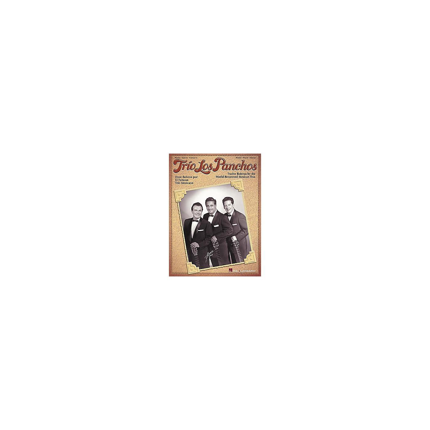 Hal Leonard Trio Los Panchos Piano, Vocal, Guitar Songbook thumbnail
