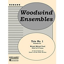 Rubank Publications Trio No. 1 (Woodwind Trio - Grade 4) Rubank Solo/Ensemble Sheet Series Softcover