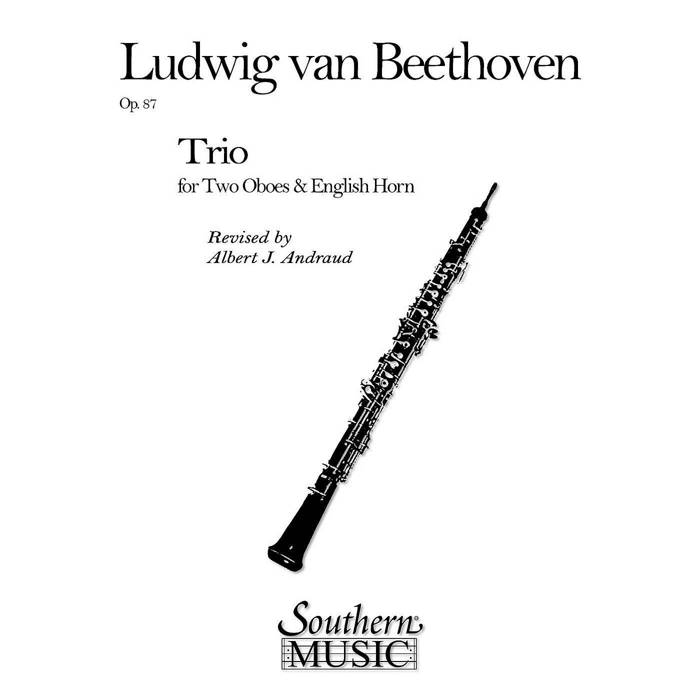 Southern Trio Op. 87 (2 Oboes/English Horns) Southern Music Series Arranged by Albert Andraud thumbnail