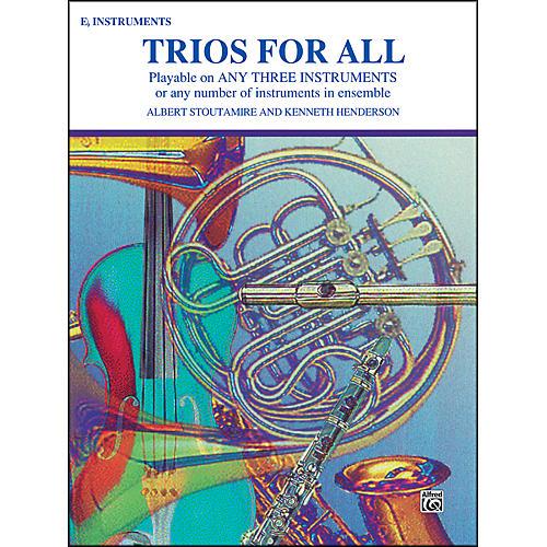 Alfred Trios for All Alto Saxophone (E-Flat Saxes & E-Flat Clarinets) thumbnail