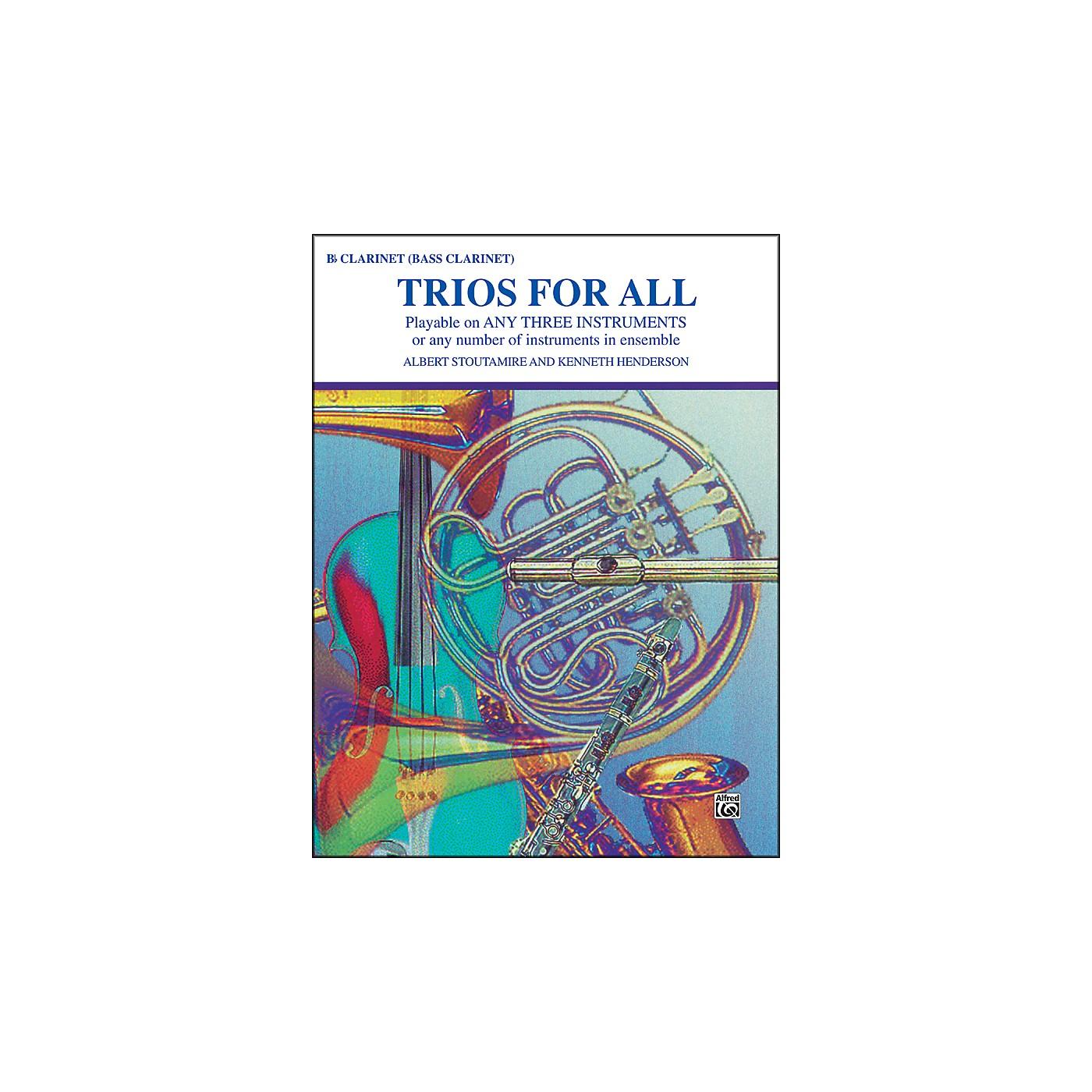 Alfred Trios for All B-Flat Clarinet Bass Clarinet thumbnail