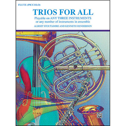 Alfred Trios for All Flute Piccolo thumbnail